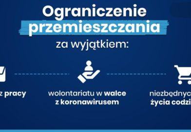 Rząd wprowadził nowe zasady bezpieczeństwa w związku z koronawirusem