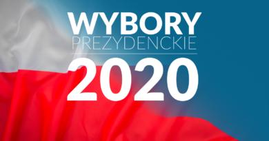 Baner wybory prezydenckie 2020.