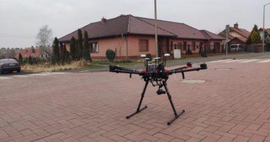 Dron w Zawidowie