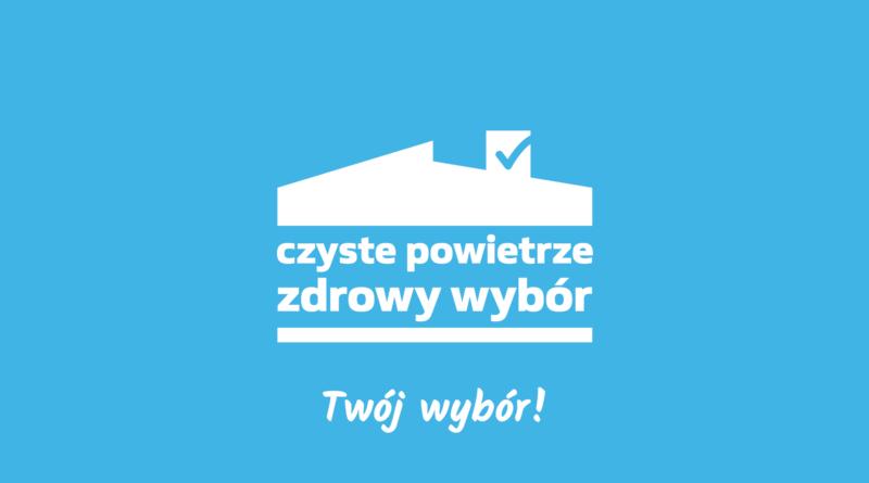 Logo Czyste powietrze zdrowy wybór