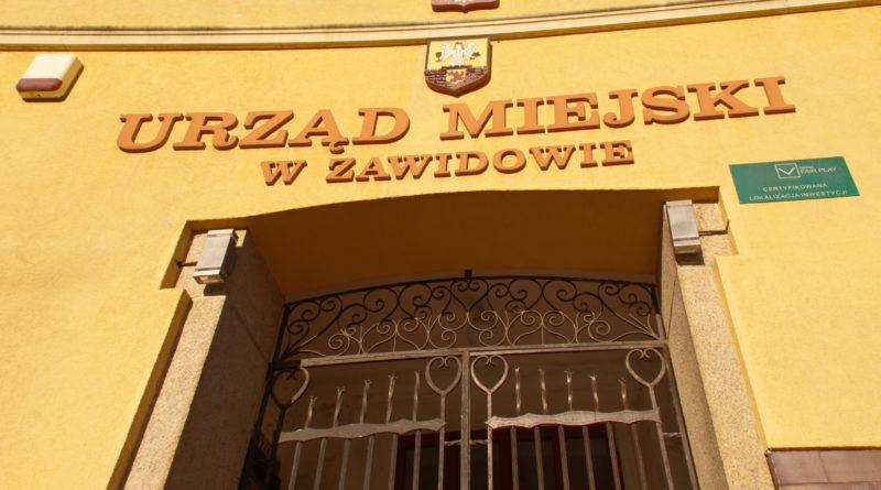 Ratusz Miejski w Zawidowie