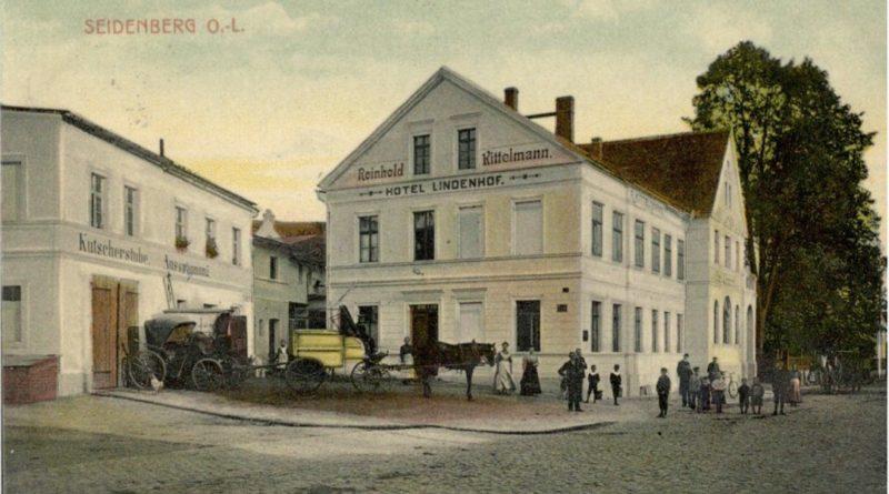 Przedwojenny budynek hotelu