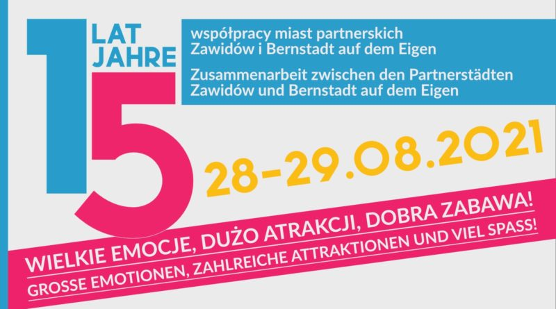 baner imprezy polsko-niemieckiej z datami